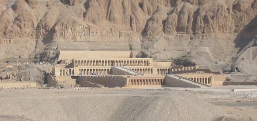 Templo de Hatshepsut <br> Fotografía del autor