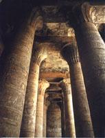 Columnas de la sala hipóstila