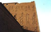 Parte trasera del pilono izquierdo, desde la muralla exterior