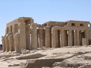 Sala hipóstila del Ramesseum Fotografía del autor