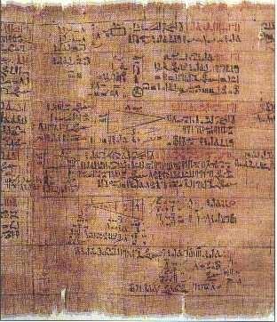 Papiro Rhind, detalle