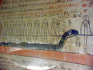 Duodécima hora Tumba de Thutmose III (KV 34) <br>Fotografía de los autores