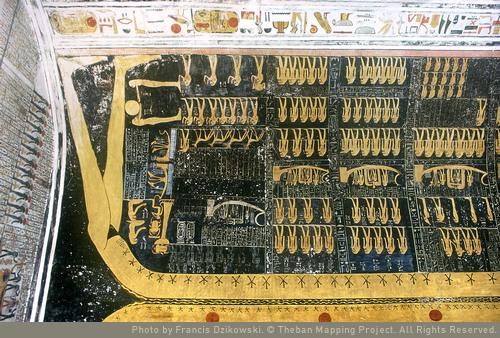 Horas 9-12 y final, nombres y epítetos de Ramsés VI