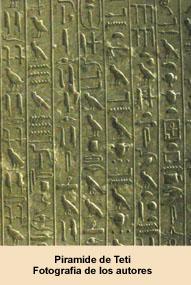 Pirámide de Teti. Fotografía de los autores