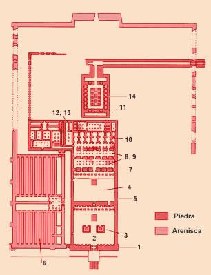 Plano del templo