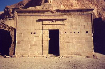El Templo de Hathor y Maat (Deir el Medina)