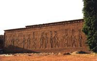 Vista de la muralla exterior