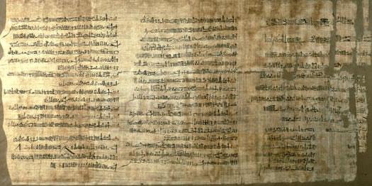 Papiro Abbott. The British Museum.