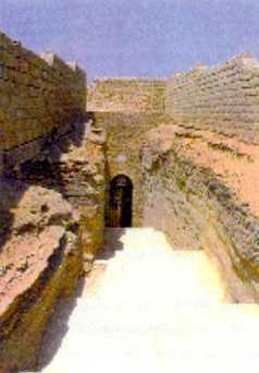 Entrada al Serapeum, Saqqara