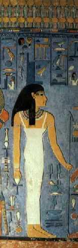 Imagen 13-2. Isis.Tumba de Horemheb. XVIII Dinastía
