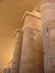 Columnata de entrada Fotografía: Leticia López